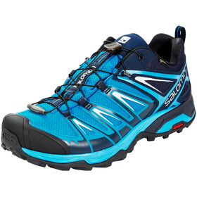Salomon X Ultra 3 GTX Shoes Men Mykonos Blue/Indigo Bunting/Pearl Blue